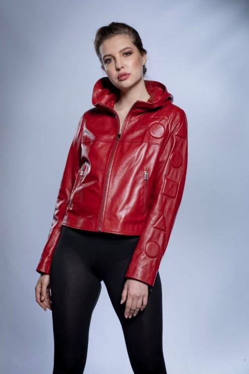 Kadın Deri Ceket Jumbo