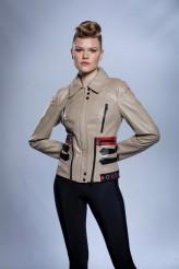 Kadın Somon Jumbo Deri Ceket